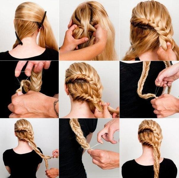 Двойная коса: инструкция