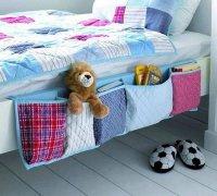 Идея для творчества: удобные кармашки на кровать