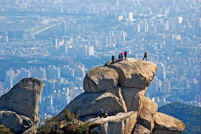 Гора Пукхансан — идеальное место для фотографирования Сеула