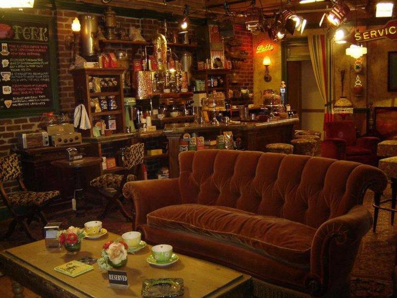 Известная кофейня из сериала «Друзья» откроется в реальности