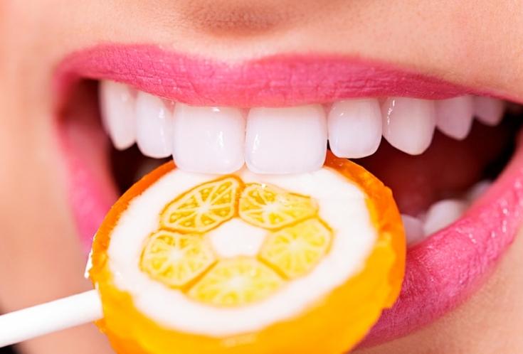 Продукты для укрепления зубов