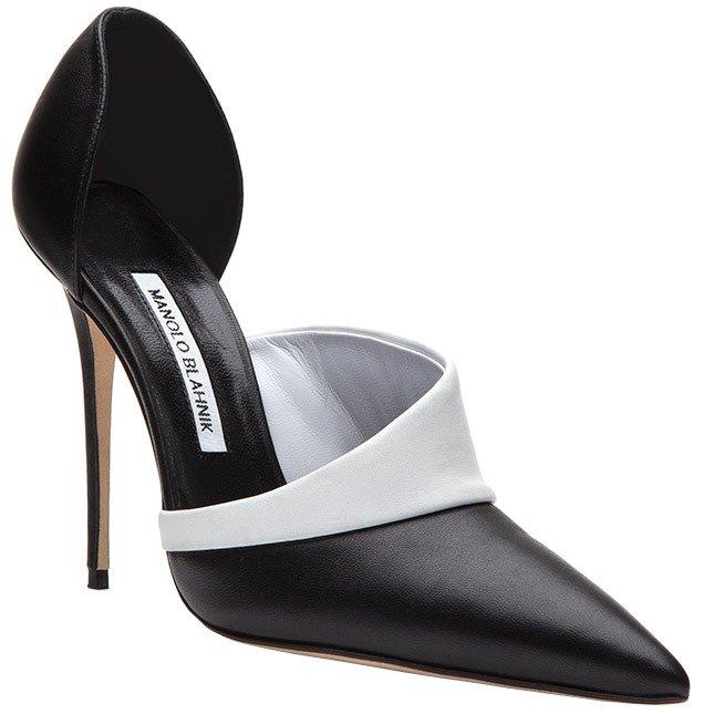 Manolo Blahnik и Виктория Бекхэм создали свою пару обуви