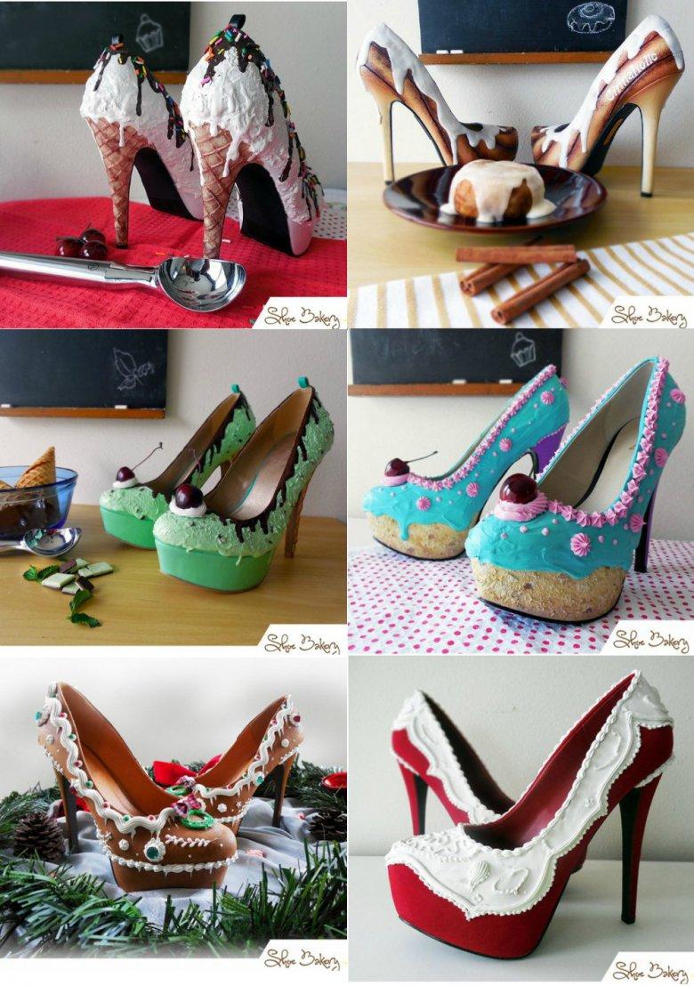Сладкие туфли от проекта Shoe Bakery