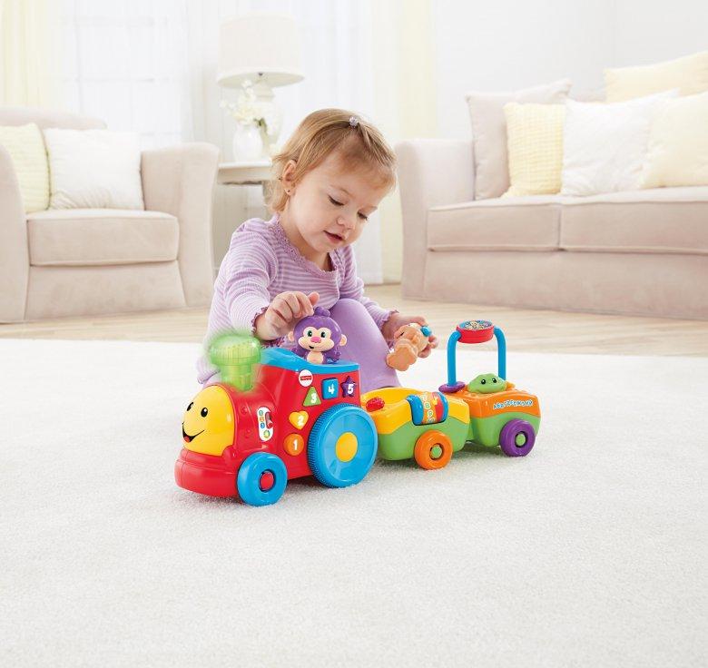 Играй и учись вместе с паровозиком от Fisher-Price®!