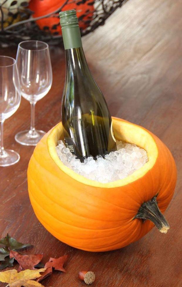 Идея для охлаждения шампанского на Хэллоуин