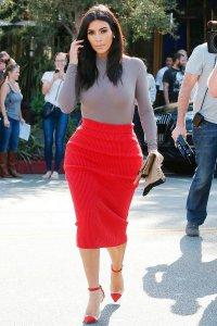 У Ким Кардашян вторая беременность?