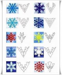 Как вырезать снежинку на Новый год