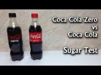 Эксперименты с Кока-Колой: сколько сахара в обычной Coca Cola и Coca Cola Zero?