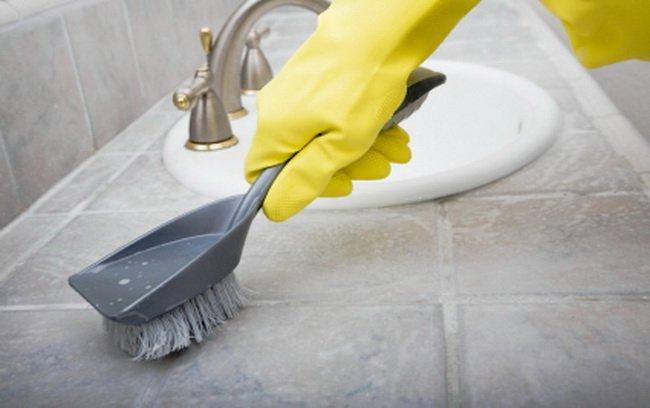 Чем отмыть швы между плиткой