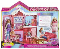 Зимний домик в горах от Barbie®!