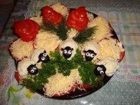 Салат «Овечка»