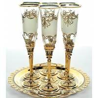 Комплект бокалов для шампанского «Колибри»