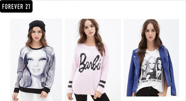 Barbie® и Forever 21 представляют совместную коллекцию одежды на открытии нового магазина!