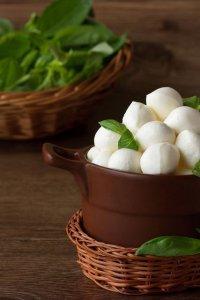 Кулинарный итальянский словарь: моцарелла