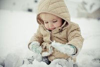 Зимние прогулки с грудничком