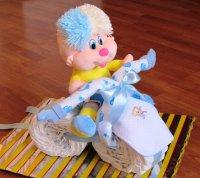 Велосипед из папмерсов своими руками
