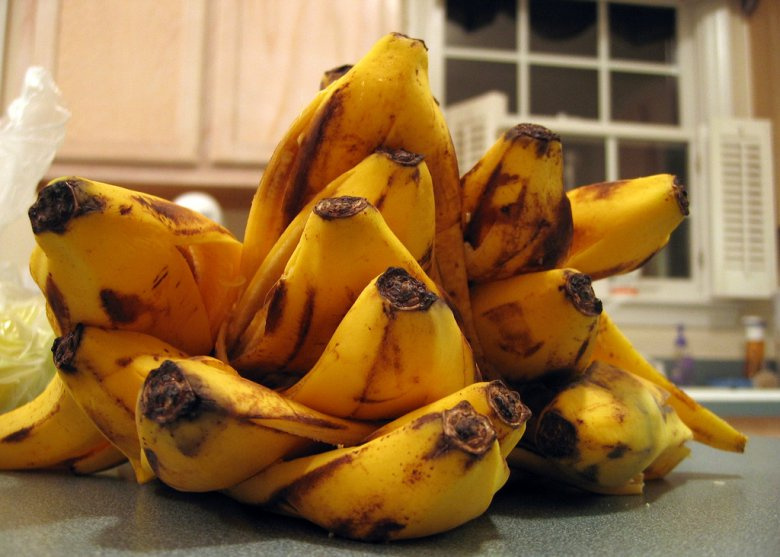 Удобрения из банановой кожуры