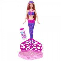 Barbie® представляет Русалочку с волшебными пузырьками!
