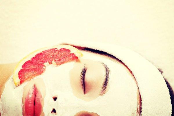 Маска для лица из кислого молока и грейпфрута