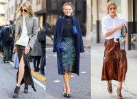 С чем носить модные юбки 2015?