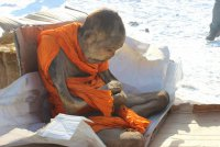 Живая мумия тибетского монаха