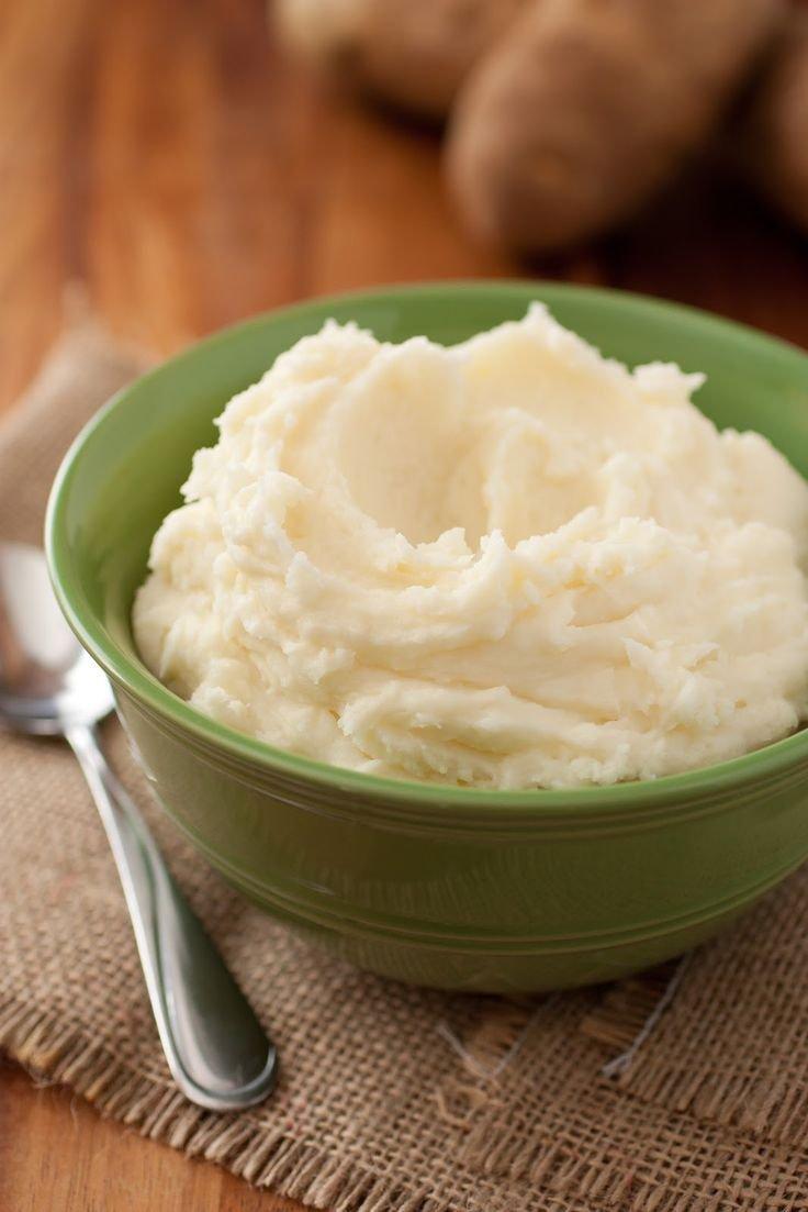 Как приготовить воздушное картофельное пюре