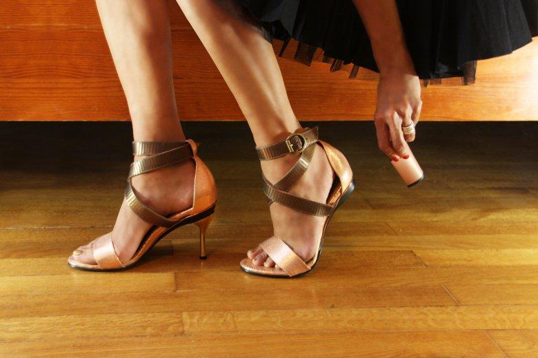 Обувь со сменными каблуками
