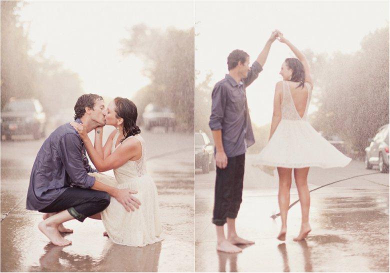 Где молодоженам устроить фотосессию, если на улице пошел дождь?