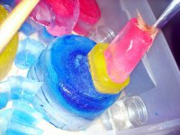 Чем занять ребенка летом: ледяные скульптуры