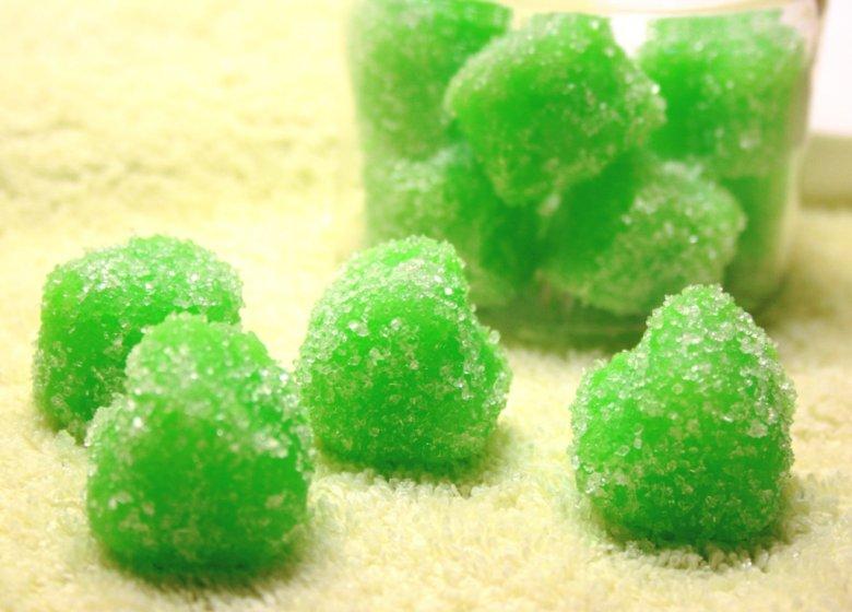 Сахарный скраб с мыльной основой
