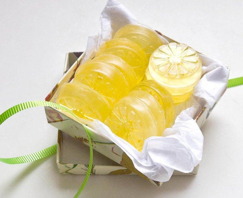 Как сделать лимонное мыло своими руками