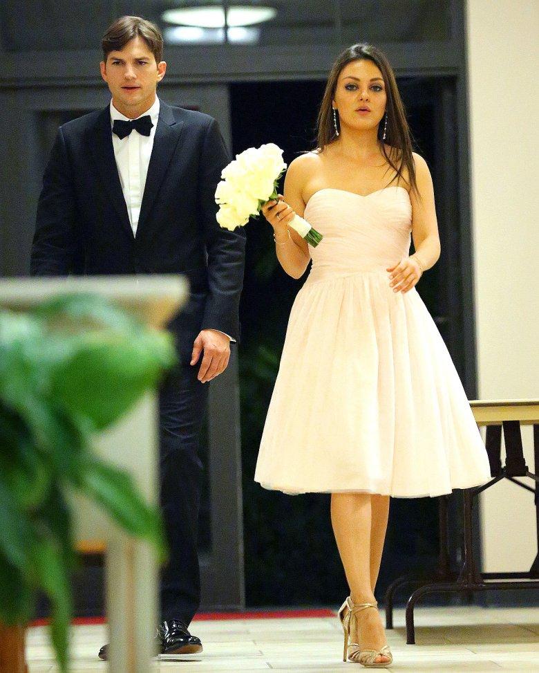 Эштон Катчер и Мила Кунис поженились