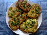 Ленивые горячие бутерброды с картошкой