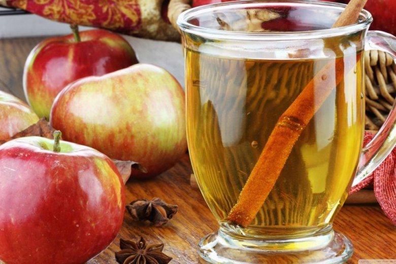 Яблочная вода с корицей для похудения