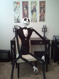 Джек Скеллингтон для украшения комнаты на Хэллоуин
