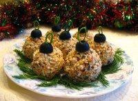 Новогодняя закуска «Елочные шары»