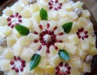Салат на Новый год «Ананасовый букет»