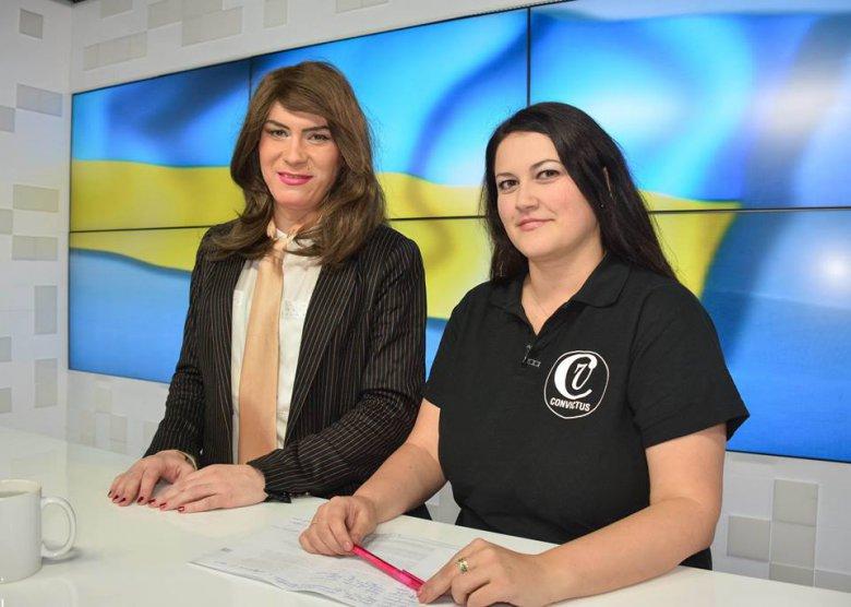 Фотомодель Анастасия Домани в прямом эфире ЧТРК