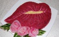 Салат «Поцелуй»