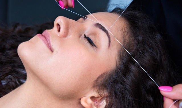 А вы пользуетесь тридингом для удаления волос на лице?