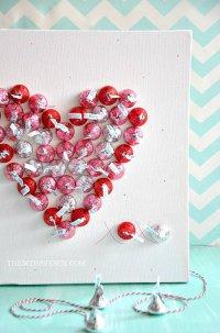 Сладкая валентинка на День святого Валентина