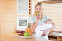 Как питаться кормящей маме в первый месяц