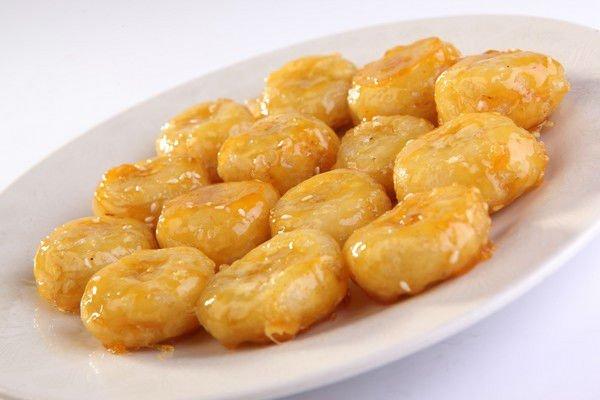 Меню в пост: медовые бананы