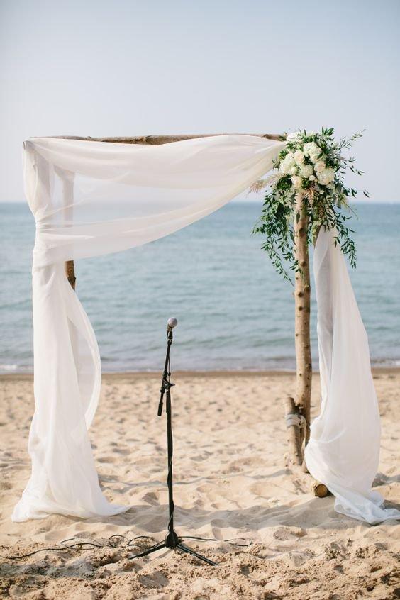 Как организовать свадебную церемонию на пляже