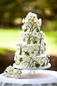 Свадьба в ромашковом стиле