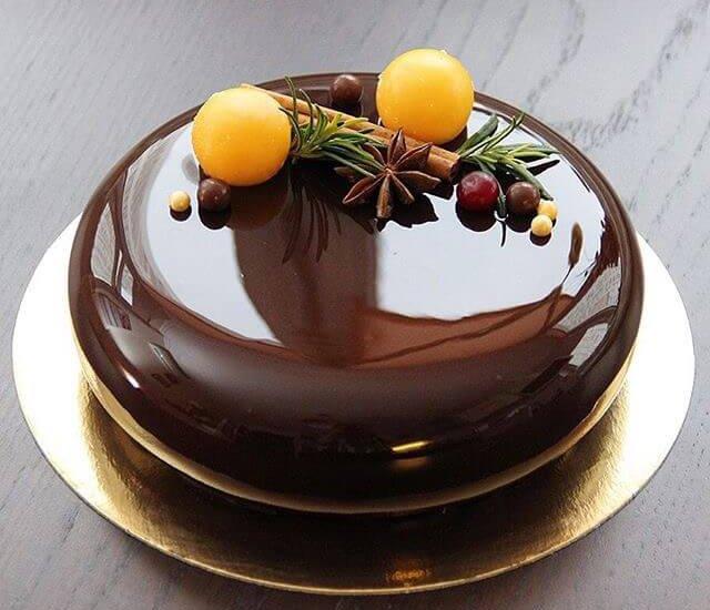 Как приготовить шоколадную зеркальную глазурь для торта