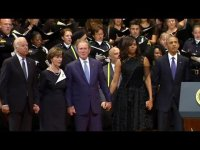 Джордж Буш снова позорится