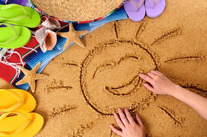 Правила поведения с ребенком на пляже