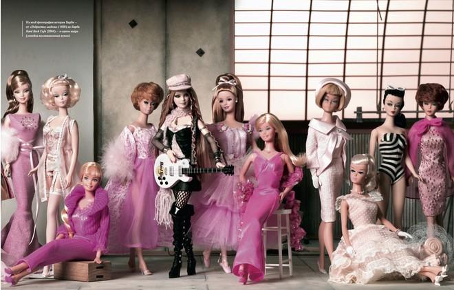 Вышла книга о кукле Barbie